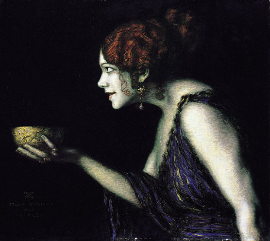 Franz von Stuck Tilla Durieux als Circe femme fatale Androgynie en femme fatale bij Franz von Stuck 